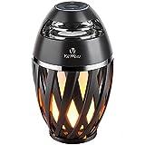 Flame Light Speaker, Viiwuu Led Flame Speakers Torch Atmosphere Bluetooth Speakers Outdoor...