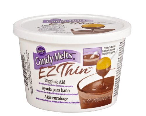 Wilton 1911-2222 Candy Melts Ez Thin,Ez Thin Dipping Aid