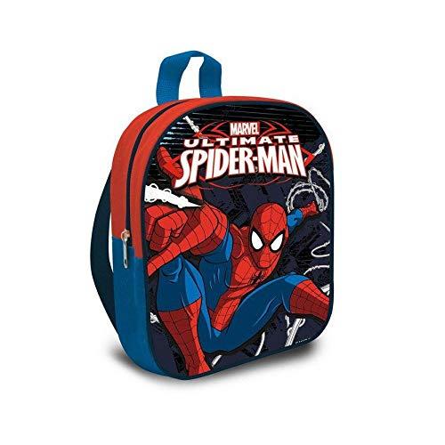 Spider-Man - Zaino con fantasia di Spiderman della Marvel, dimensioni di 24cm