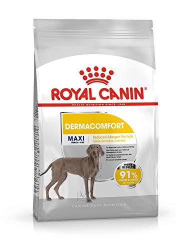 Royal Canin Dermacomfort Maxi - Pienso para Perros Grandes Especial Protección Piel y Pelo 10Kg 🔥