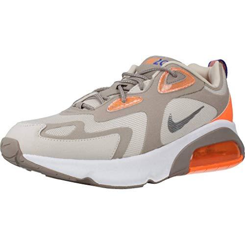 Nike Air MAX 200 WTR, Zapatillas para Correr Hombre, Sepia Stone Reflect Silver Desert Sand, 43 EU