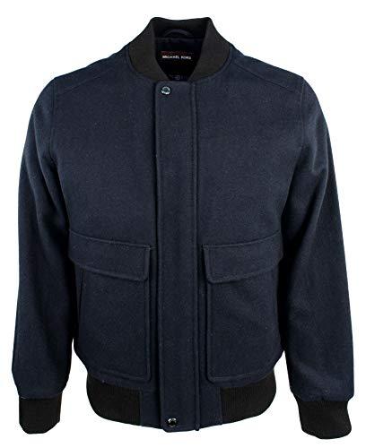 Michael Kors Men's Wool Blend Bomber Jacket-NH-M