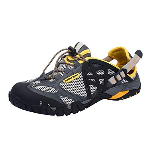 Dtuta Outdoor Fitnessschuhe,Walkingschuhe,Sommer- Und Outdoor-Sportbekleidung FüR Herren, Die Schnell Trocknend Ist Und Leichte, Vielseitige, Atmungsaktive Upstream-Schuhe Mit Rutschfesten Sandalen