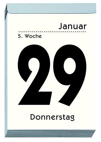 Zettler 313-0000 Tagesblock Nummer 13-1 Tag/1 Seite, 10 x 14,5 cm