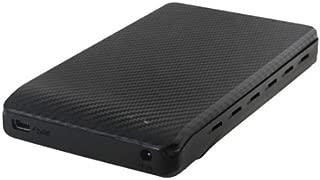 Silverstone Raven Series Screwless Design USB 3.0 2.5-Inch Hot-Swap 5 Gbit/s Transfer Speed External Hard Drive Enclosure - RVS02 (Black)