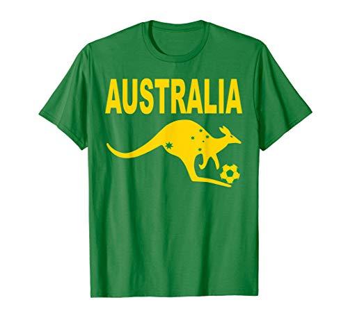 Australia Soccer Jersey Australia Football Flag Gift T-Shirt