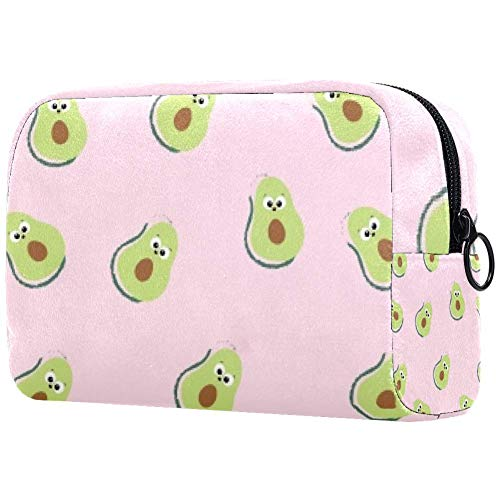 Personalisierbare Make-up-Pinsel-Tasche, tragbare Kulturtasche für Frauen, Handtasche, Kosmetik, Reise-Organizer, Amazing Duck Birne