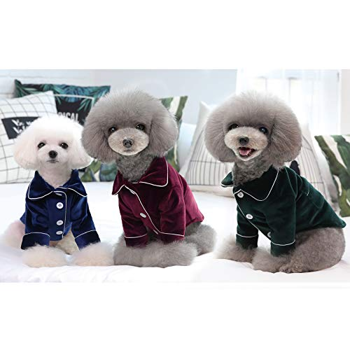 BPS Ropa Perros Mascotas Pijama Cómoda Perros Material