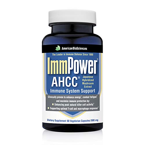 American BioSciences ImmPower AHCC Supplement, 60 Vegetarian Capsules,...