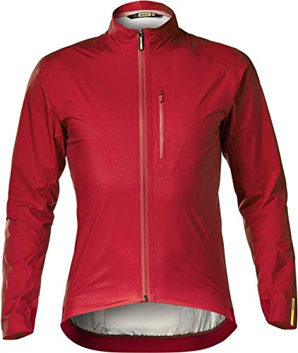 MAVIC Essential H2O Fahrrad Regenjacke rot 2020: Größe: S (44/46)