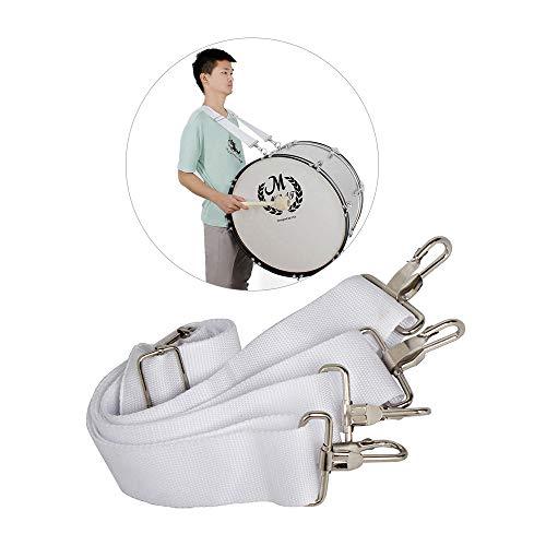 ABMBERTK Correa de Hombro Ajustable para Bombo, Clip de Metal con Correa de Nylon de Honda, Accesorios para Piezas de Instrumentos de percusión Musical, como en la Imagen