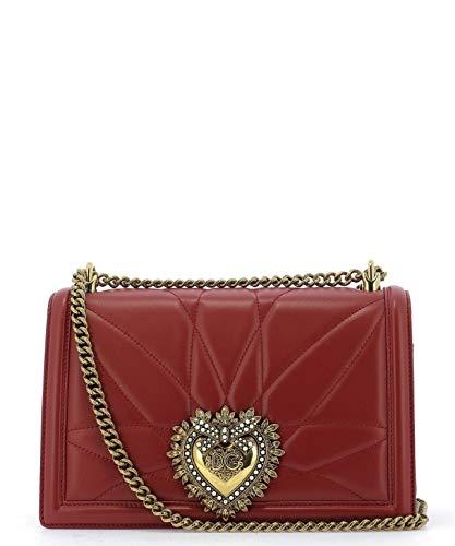 Luxury Fashion | Dolce E Gabbana Donna BB6651AV96787124 Rosso Borsa A Spalla | Stagione Permanente