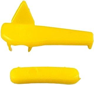 figatia Almofada removedora de cabeça de pássaro com proteção de roda amarela 60 mm para troca de pneu