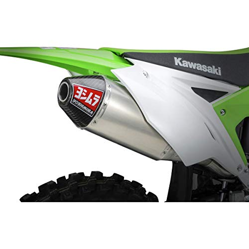 Yoshimura RS-4 Full System Exhaust (Signature/Stainless/Aluminum/Carbon Fiber) for 17-18 Kawasaki KX250F