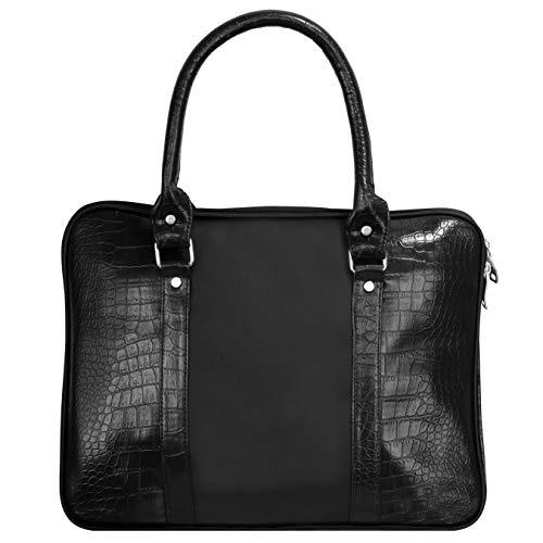 Optima Bolsa de mensajero de lona de ocio de 15 pulgadas portátil maletín de hombro mochila Crossbody para hombres, mujeres y adolescentes