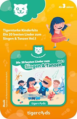 tigermedia 4168 tigercard-Die 20 besten Lieder zum Singen & Tanzen