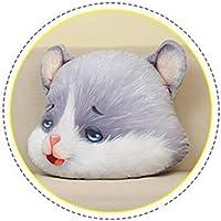 Simulación del hámster de juguete de felpa linda del ratón de peluche juguetes creativos de cumpleaños Juguete suave decoración del regalo Cojín Almohada portátiles Almohada de regalo de San Valentín