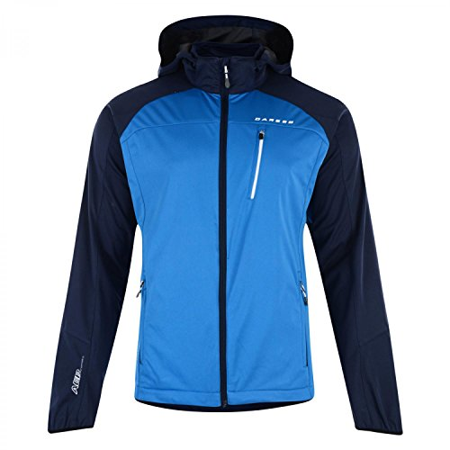 Dare2b Preclude Softshell Mountain Jacket - Trail Blaze/Ocean Depths