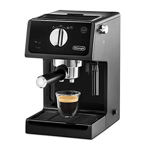 De'Longhi ECP31.21Traditional Barista Pump Espresso Machine, Coffee and Cappuccino Maker, Black