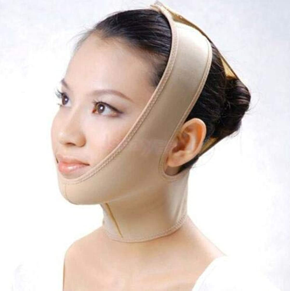胚芽補足振りかけるFidgetGear ANTI WRINKLE V FACE CHIN CHEEK LIFT UP SLIMMING THIN BELT MASK STRAP BAND S-XXL Small