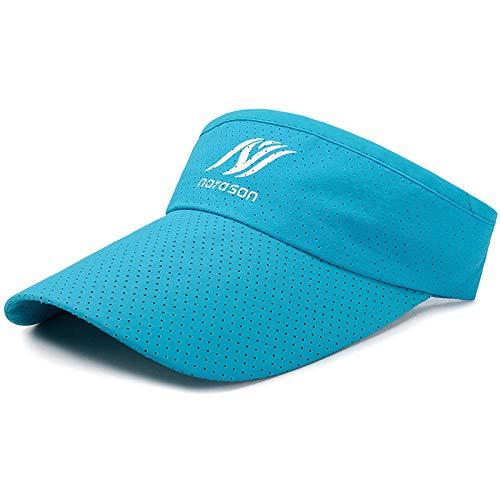 ASADVE - Sombrero de proteccin solar para mujer, estilo coreano azul lake ajustable