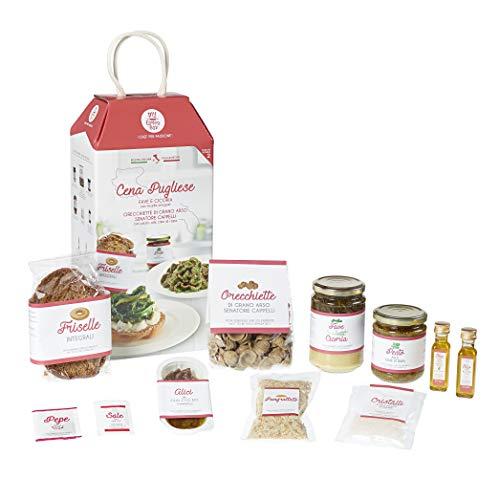 CENA PUGLIESE My Cooking Box x2 Porzioni - Per una serata tra amici, una cena romantica o come idea regalo originale!