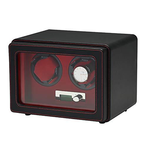 XYW Spinner Wickelkasten Watch-Wickler - PU-Leder-Uhr Shaker Home Mechanische Uhren Automatische Plattenspieler Anti-magnetische Wickelbox Staubfestes Uhr Aufbewahrungskoffer Ruhig und gut betrieben