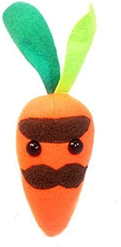 Flaky Friends  Monsieur Carrot Plush Toy Food by Flaky Friends