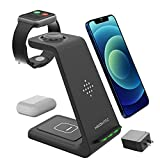 3 in 1 Wireless Charging Station for Multiple Devices -...