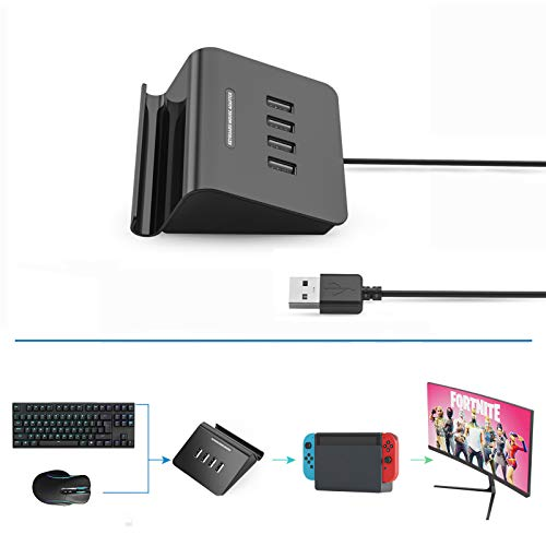 Delta essentials FPS Tastatur und Maus Adapter Konverter für PS3/PS4/Nintendo Switch/Xbox One/Xbox 360
