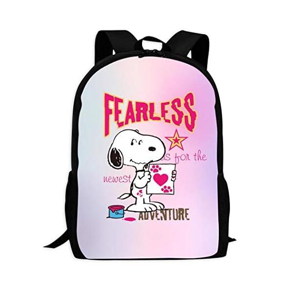 41V8+KZPCTL. SS600  - Snoopy - Mochila escolar para niños y niñas, color Snoopy-1 ONE_SIZE