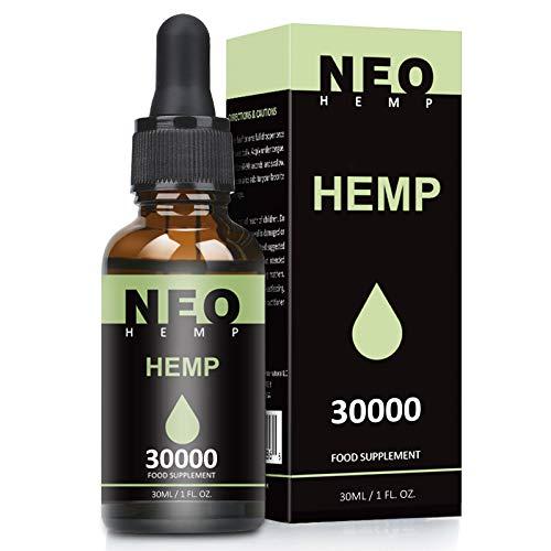 Premium High Strength Oil 30000MG (30ML), Maximum Value Natural Supplement - Rich in Omega 3-6-9 | Vegan