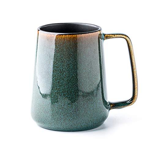 TANYTAO-SHOP Tazas de Café Tazas de Porcelana, for el café, té, Mocha y reflexionado sobre Bebidas, Tazas de cerámica Creativa, Grande, Pasado de Moda, Noche, Estrella, Hogar, Oficina, Fiesta,