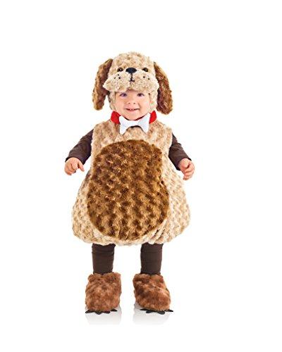Underwraps Costumes Costume Peluche Enfant Chien-Taille 4/6 Ans