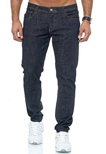 Redbridge Vaqueros para Hombre Jeans Denim Pantalón Amplia Gama de Tamaños Street Heat Azul Oscuro W32 L34