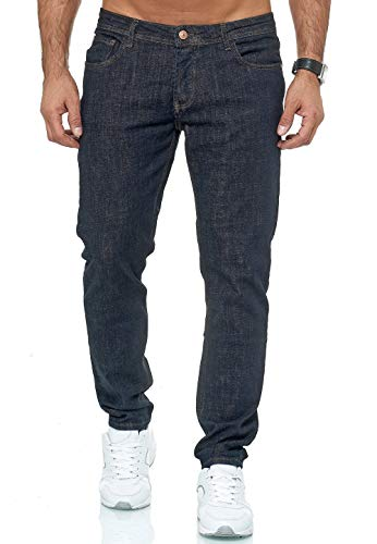 Redbridge Vaqueros para Hombre Jeans Denim Pantalón Amplia Gama de Tamaños Street Heat Azul Oscuro W40 L34