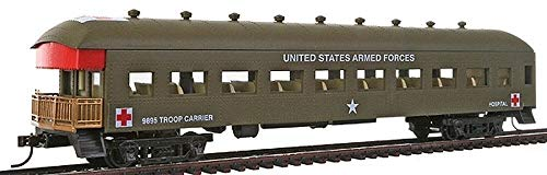 Model Power-Militay Action Series -- 1967 Harriman-Style Passenger Car US Army -