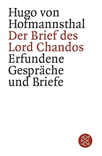 Der Brief des Lord Chandos: Erfundene Gespräche und Briefe