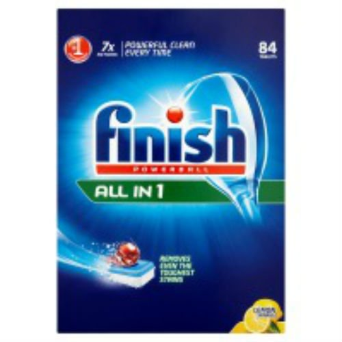 Finish Powerball All in 1 Lemon Sparkle 1545 G = 84S 4 x 84S Fall von 4