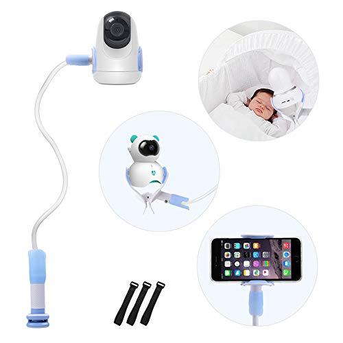Universal Baby Monitor Halter, Kamera Halterung,Handyhalter, Kompatibel mit den meisten Babyphones, Verstellbarer Babykameraständer für Kinderzimmer (Blau)