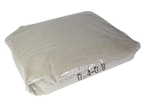 Quarzsand für Filteranlagen 25kg, 04-08mm Sandfilteranlage Pool Schwimmbad Teich Schwimmteich Reinigung