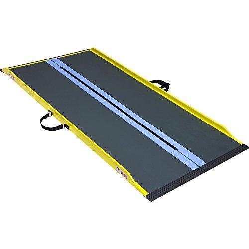 ダンロップホームプロダクツ『車いす用可搬形スロープダンスロープライトスリム(R-245SL)』