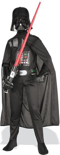 Darth Vader Costume Set Bambino, dimensioni 128/134 [Toy]