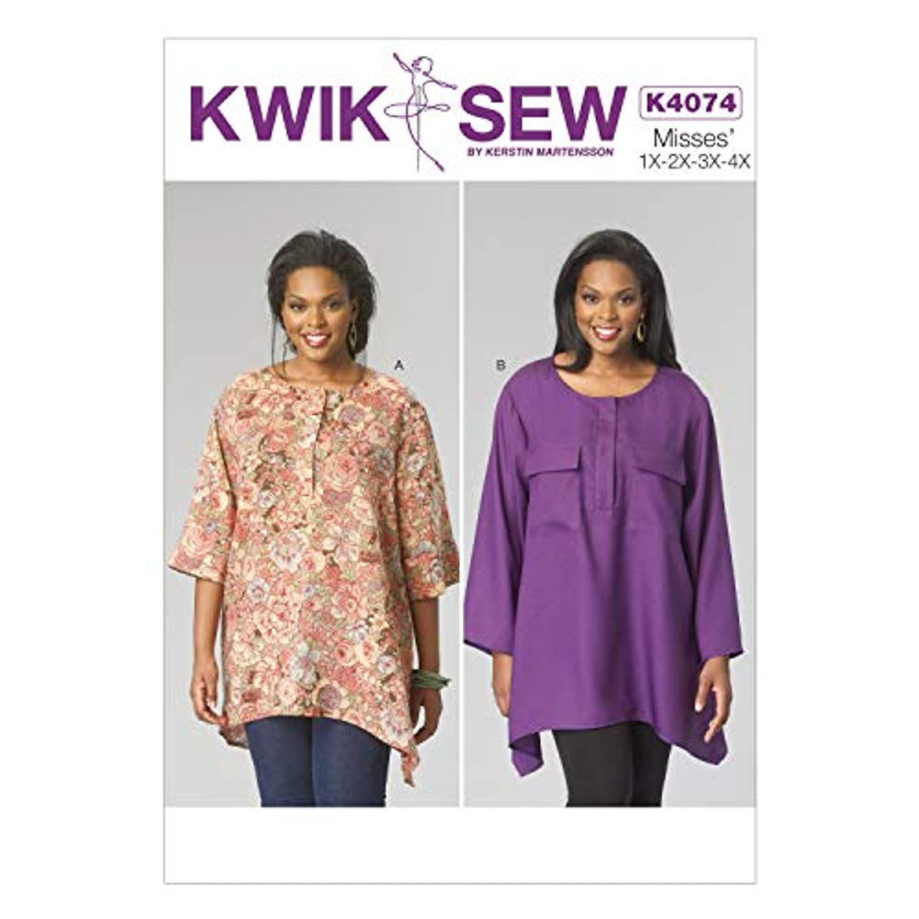 KWIK-SEW PATTERNS K4074 Women's Tops