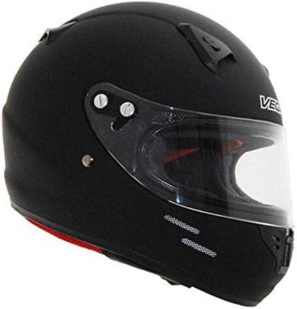 Vega KJ2 Junior Full Face Karting Helmet Flat Black Small product image