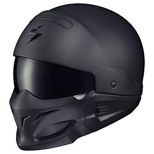 ScorpionExo Covert Unisex-Adult Half-Size-Style Matte Black Helmet