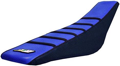 FLU DESIGNS PLEATED GRIPPER SEAT COVER YAMAHA WR250F WR450F WRF250 WRF450 03-06