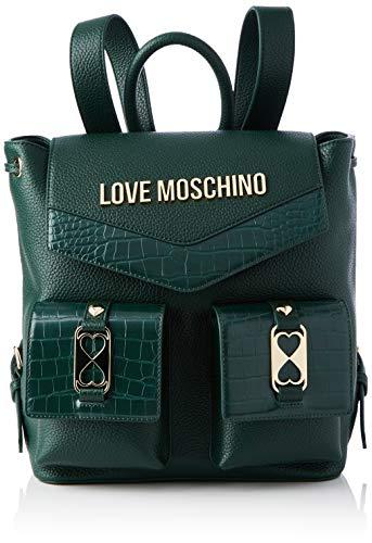 Love Moschino Damen JC4290PP0BKP1 Rucksack, grün, Normale