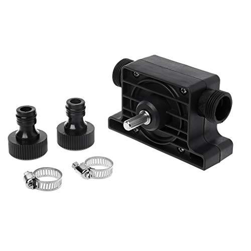 Electric Drill Pump Self-Priming Transfer Oil Fluid Water Anti-Corrosion High Temperature Resistant Portable (1 Pc)