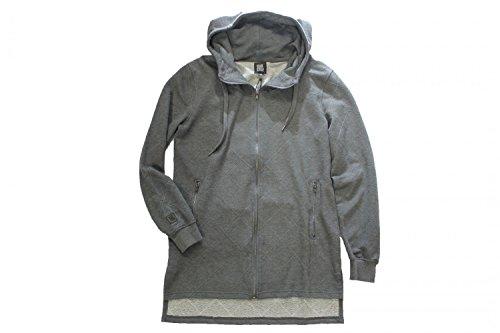 HO-1640 Black Kaviar Jacke mit Kapuze grau, Farbe:grau;Grösse:L